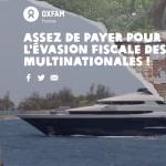 Assez de payer pour l'évasion fiscale des multinationales !