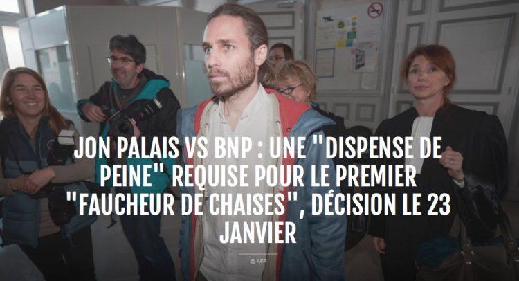 Le faucheur de chaises contre la BNP